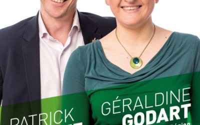 Géraldine Godart : candidate sur la liste régionale