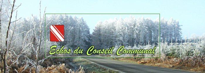 Conseil communal de Gedinne, du 26 janvier 2017