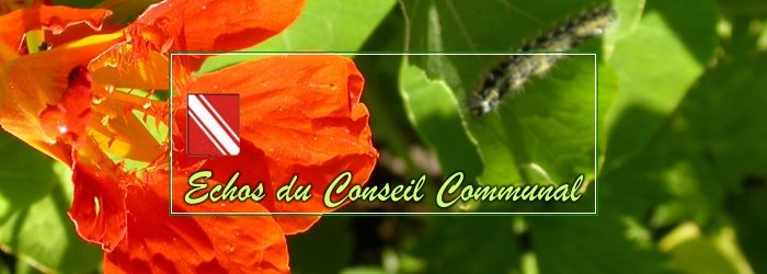 Compte-rendu du conseil communal du 28 mars 2018