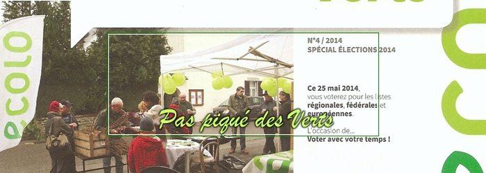 Pas piqué des Verts 04     Spécial Elections 2014