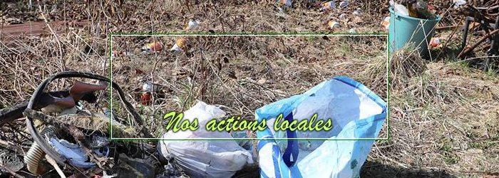 Ce dimanche, des membres de la locale de Gedinne ont participé au «Grand nettoyage de printemps»