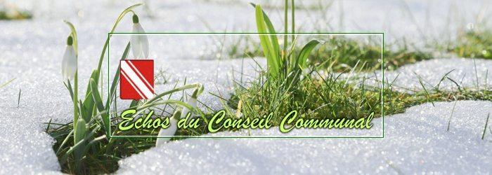 Compte-rendu du conseil communal du 22 février 2018
