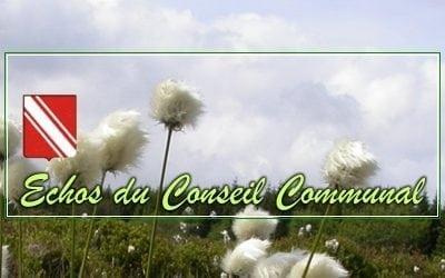Conseil communal du 30 juin 2021: Au nom des CRACS *!