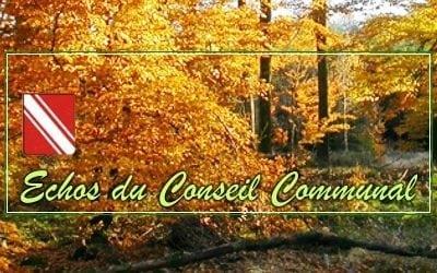 Conseil Communal du jeudi 7 novembre 2019