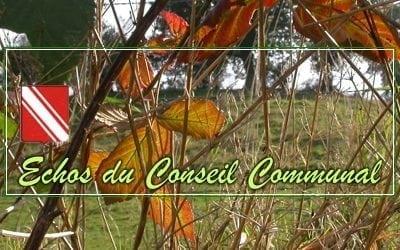 Compte-rendu du conseil communal du 13 septembre 2018