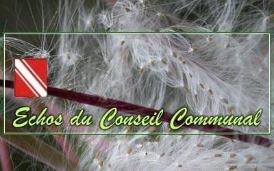 Conseil Communal du 19 décembre 2018  – Compte-rendu Ecolo & Mobilisation Citoyenne