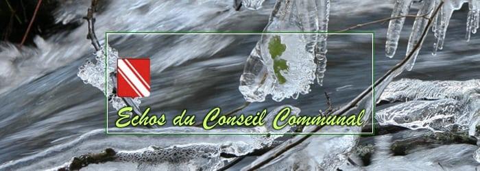 Conseil Communal 3 décembre 2018